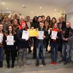 Offizielle Übergabe der JuLeiCas in der Gemeinde Eppelborn